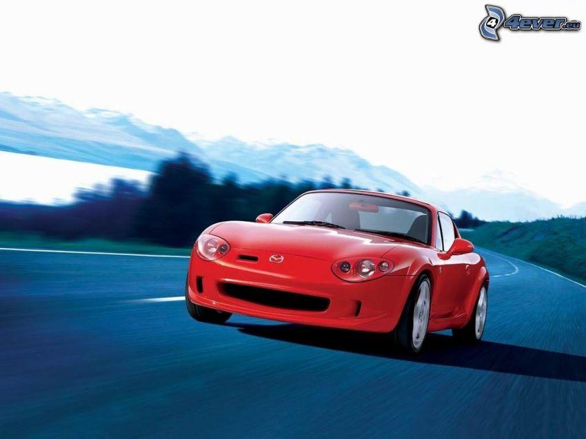 Mazda Roadster, Straße