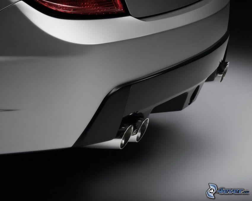 Mercedes-Benz, Auspuff