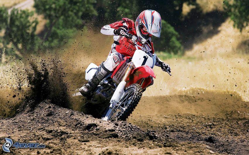 motocross, Driften