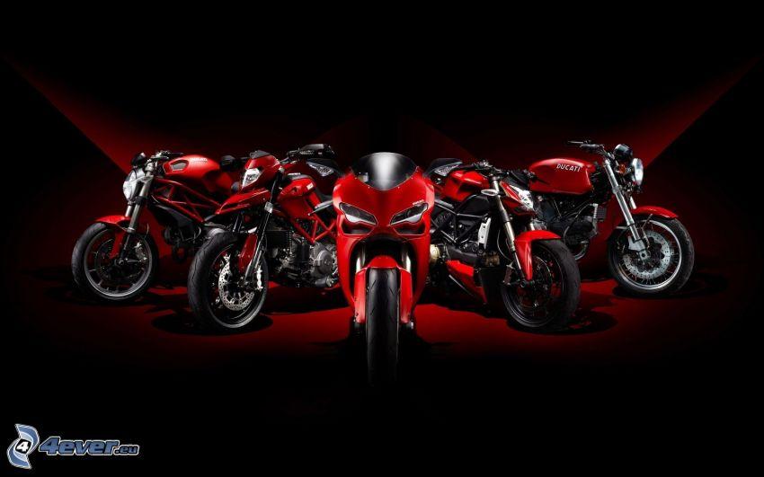 Ducati, Motorräder