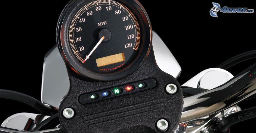 Harley-Davidson, Drehzahlmesser
