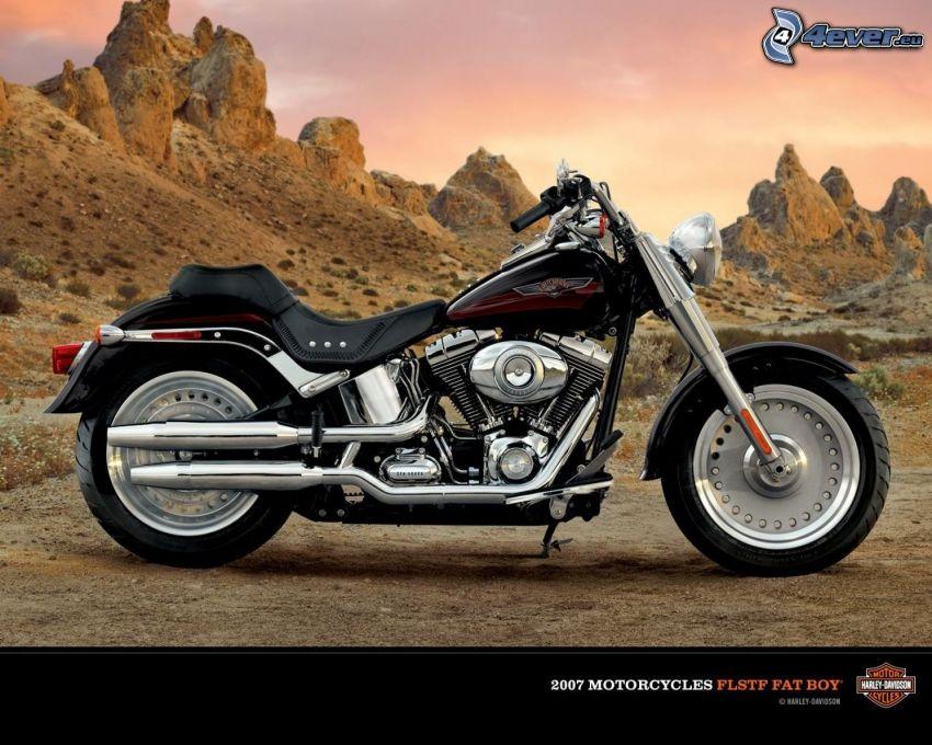 Harley-Davidson, Felsen