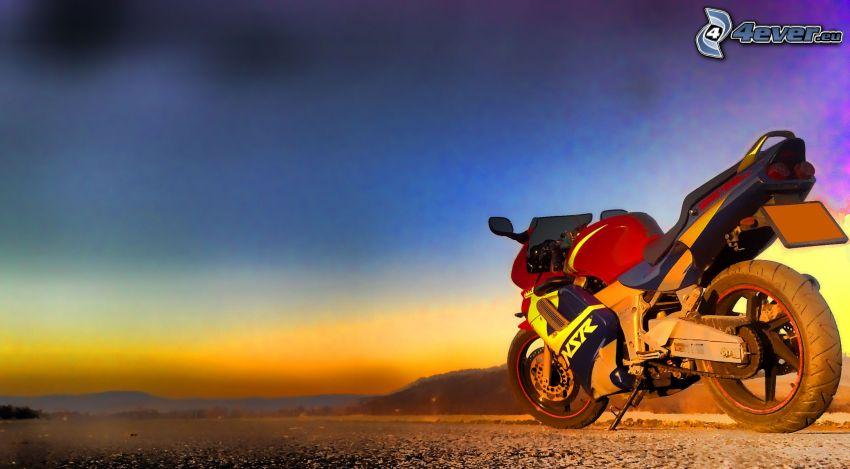 Honda NSR, Motorrad