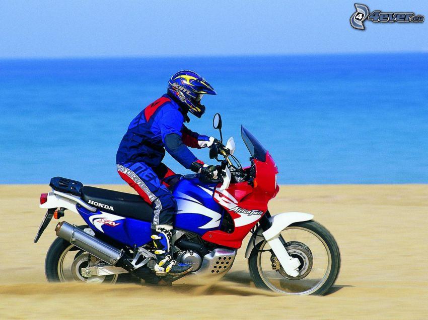 Honda XRV 750 Africa Twin, Wüste, motocross