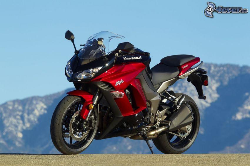 Kawasaki, ninja, Motorrad