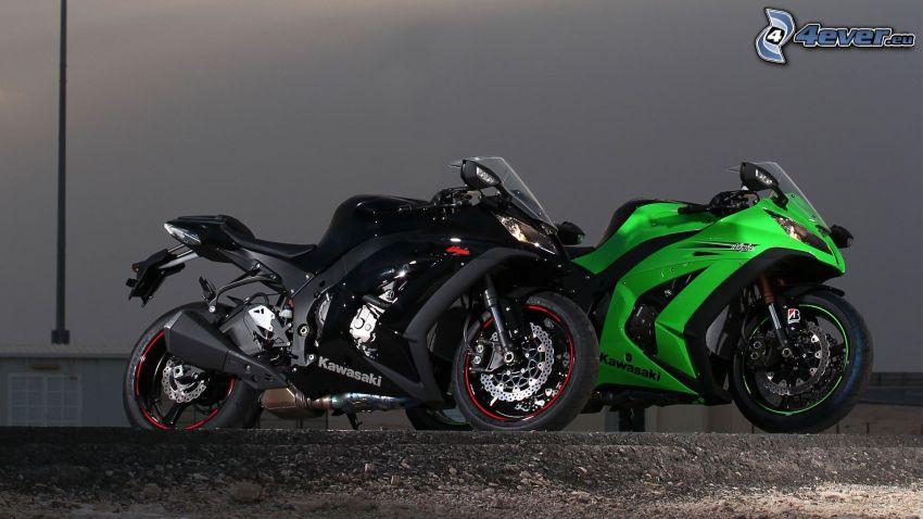 Kawasaki ZX 10R, Motorräder
