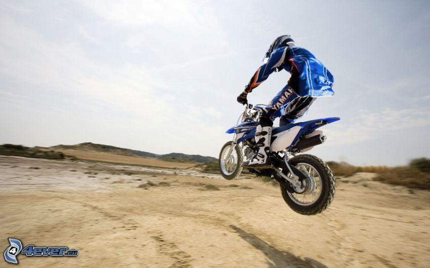 motocross, Sprung