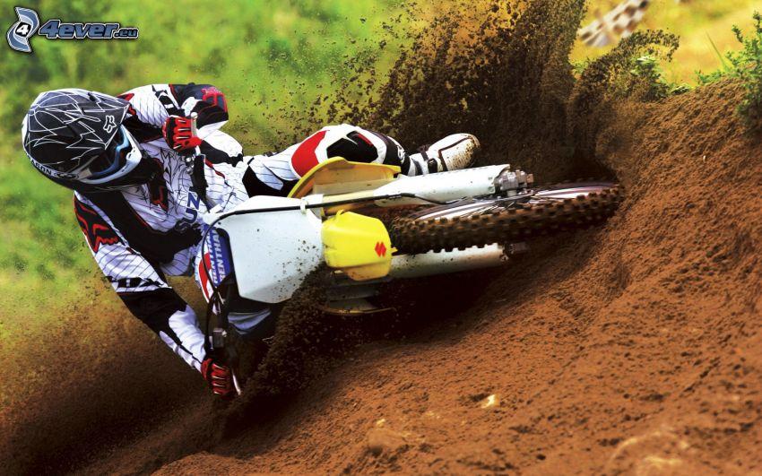 motocross, Suzuki, Motorräder, Ton