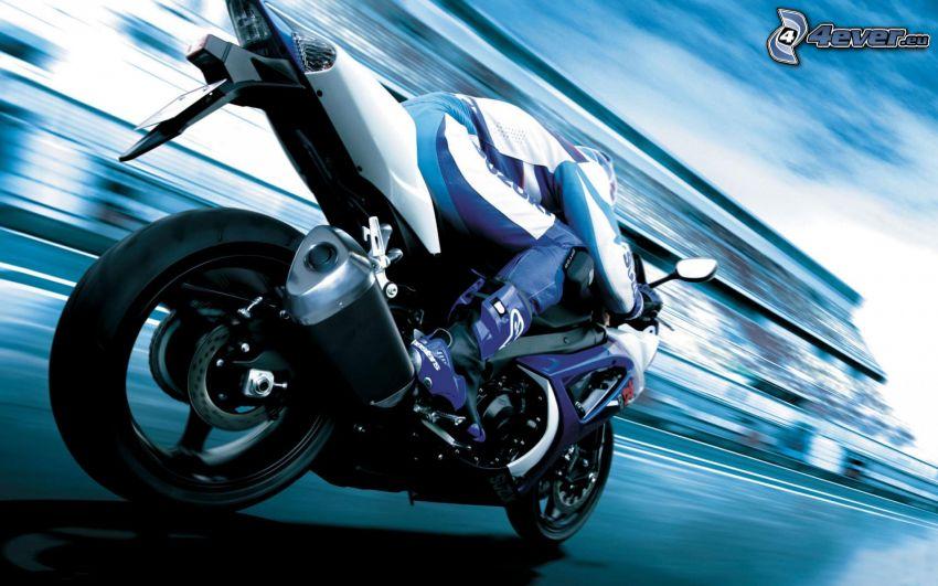 Suzuki GSX-R, Motorräder, Geschwindigkeit