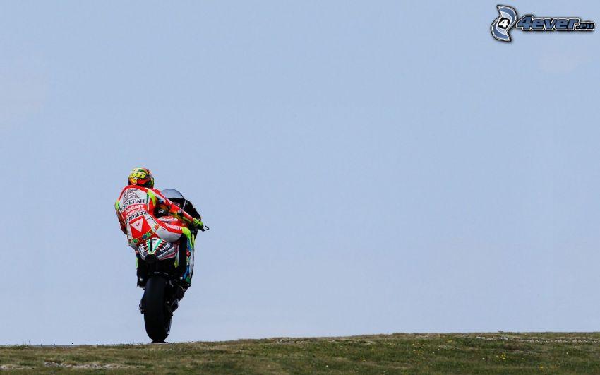 Valentino Rossi, Ducati, Akrobatik