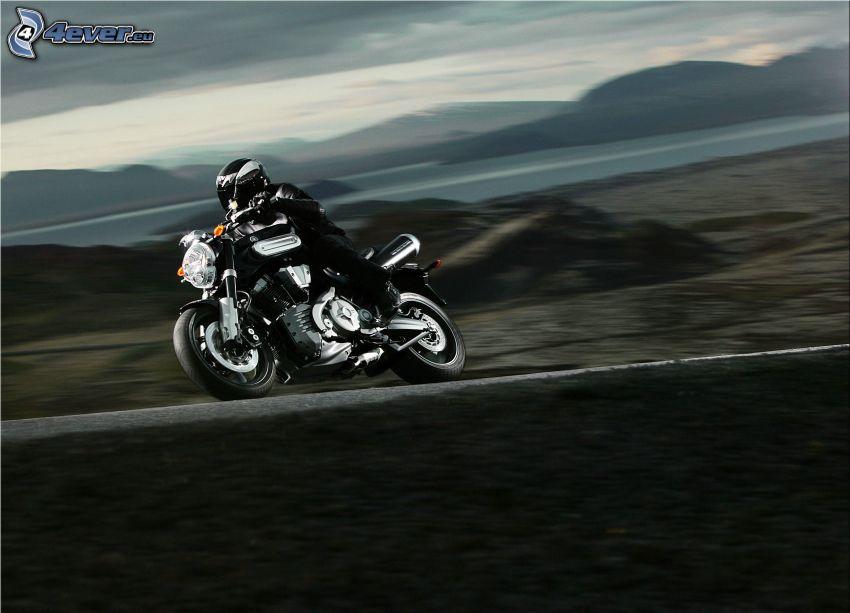 Yamaha, Motorräder, Geschwindigkeit