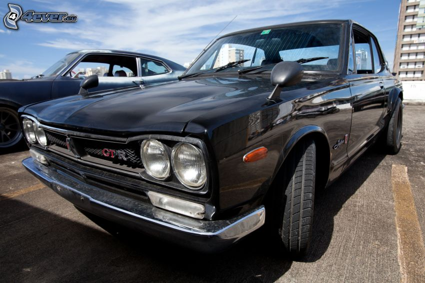 Nissan Skyline GT-R, Oldtimer, Reflektor
