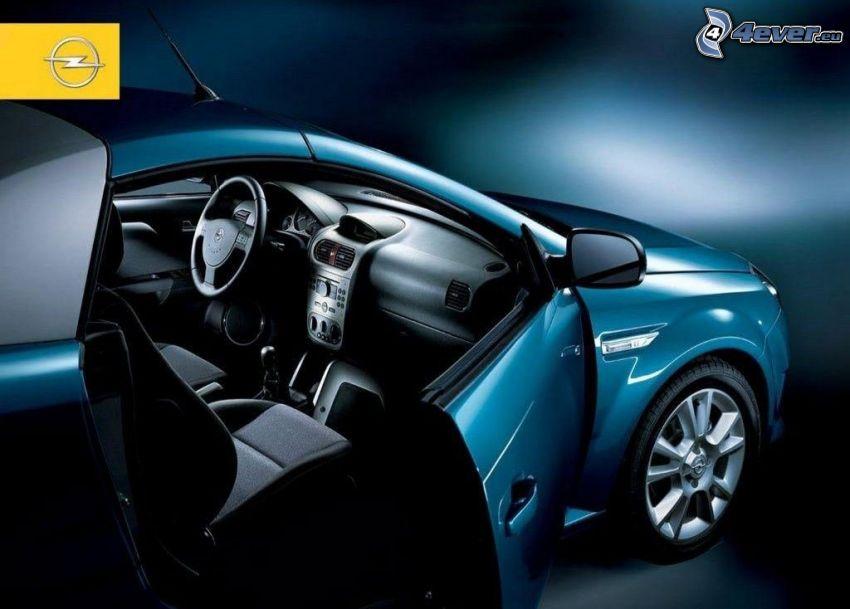 Opel Tigra, Cabrio, Tür, Innenraum