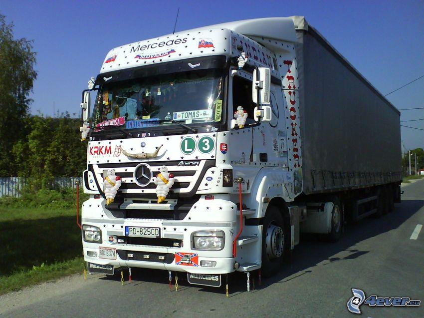 Mercedes, LKW, Slowakei