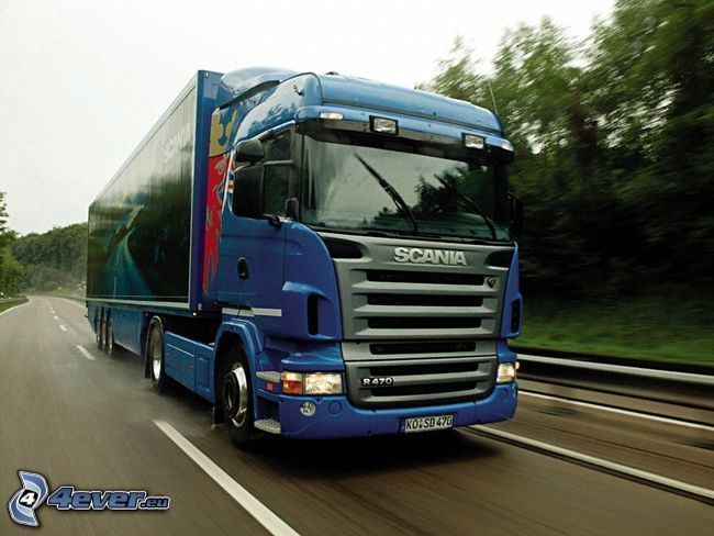 Scania R470, LKW, Autobahn