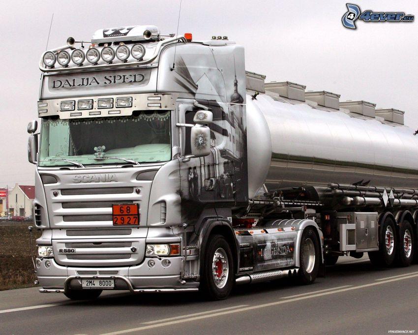 Scania R580, LKW
