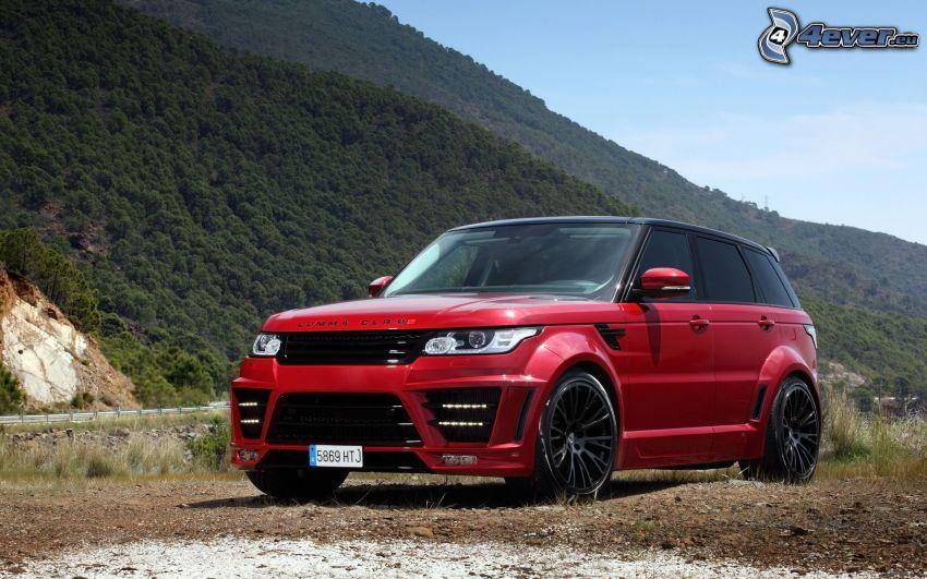 Range Rover, Berge