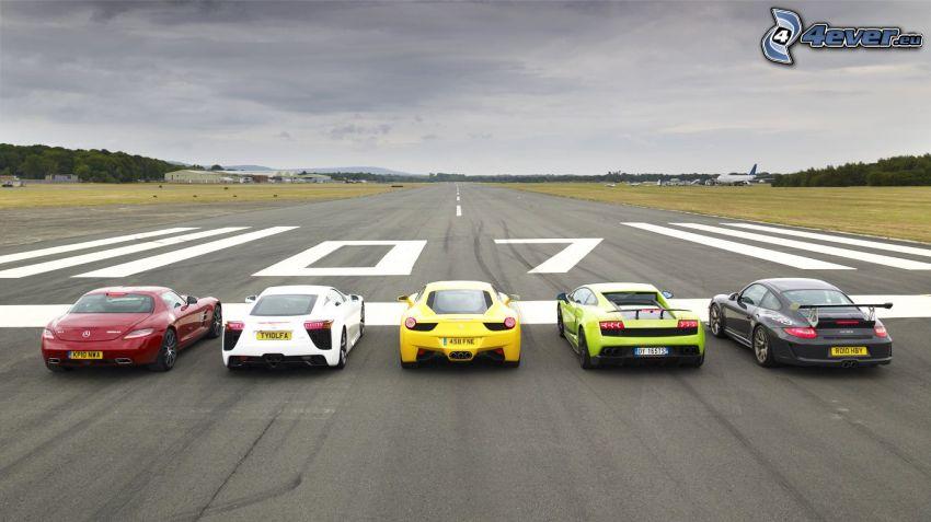 Rennen, Flughafen