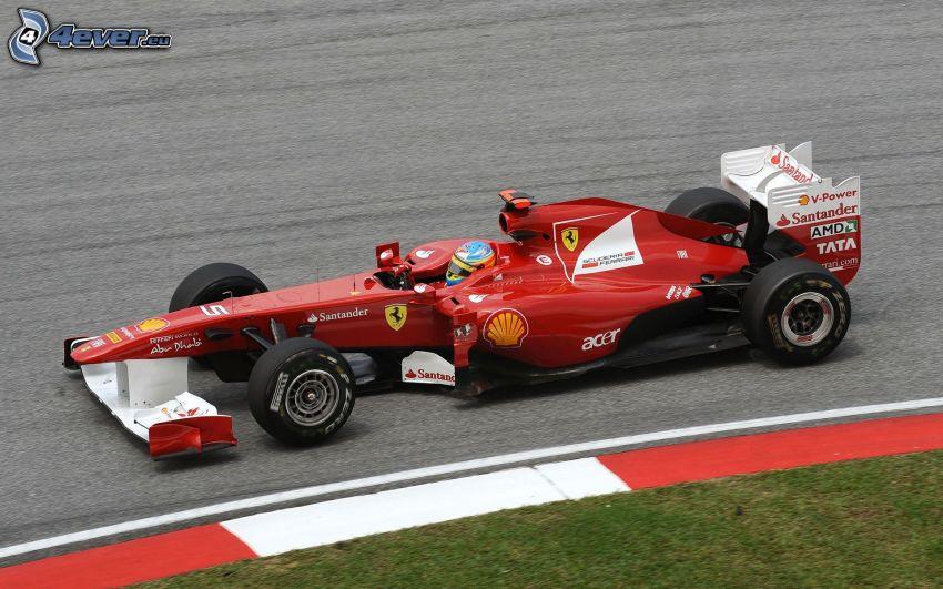 Ferrari F1, Formel