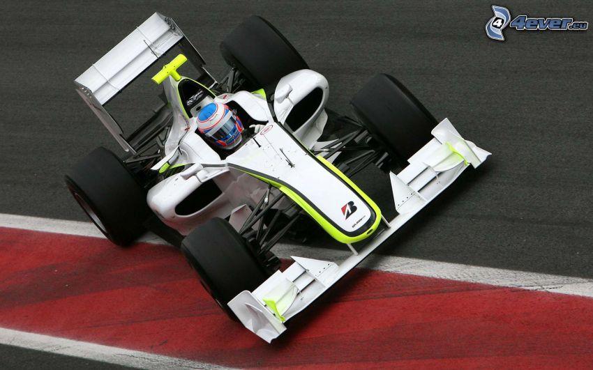 Formel, Rennstrecke, Einzelfahrer