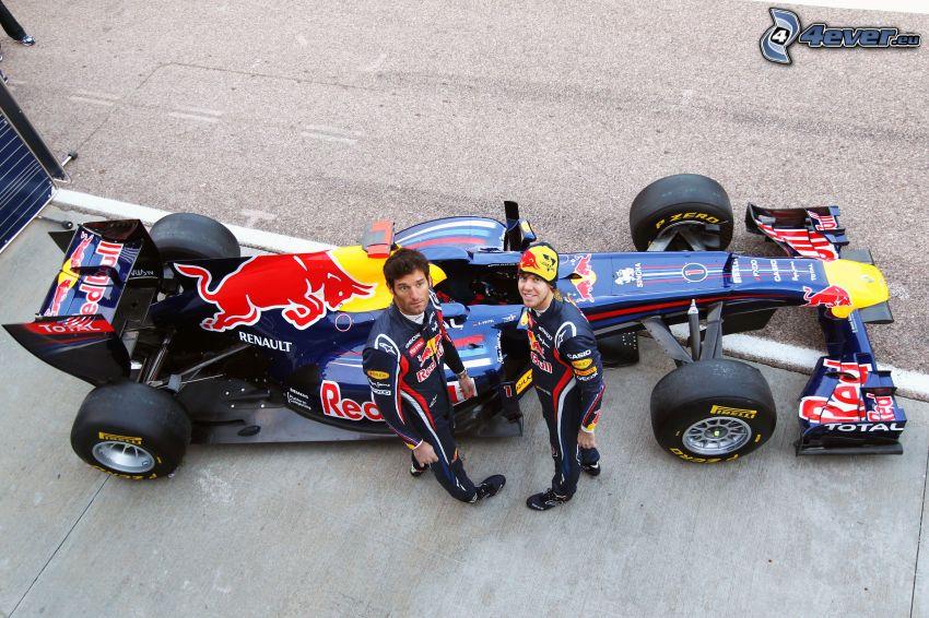 Formel, Wettkämpfer
