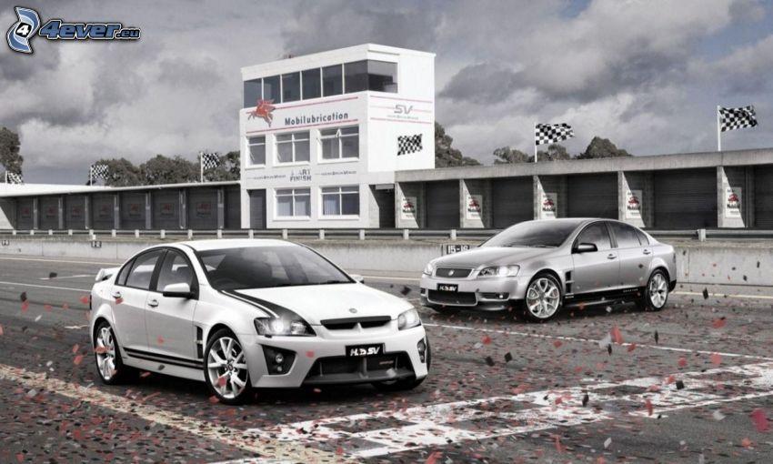Honda HSV, Rennstrecke