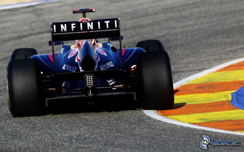 Infiniti Formel, Rennstrecke