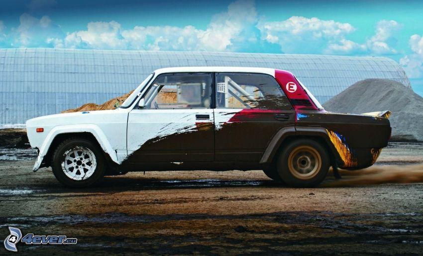 Lada, Oldtimer, Rallye