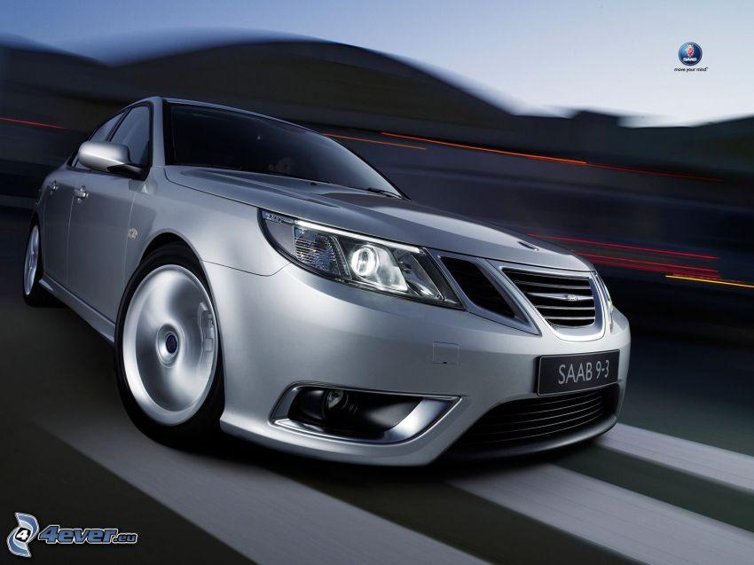 Saab 9 3, Straße, Geschwindigkeit