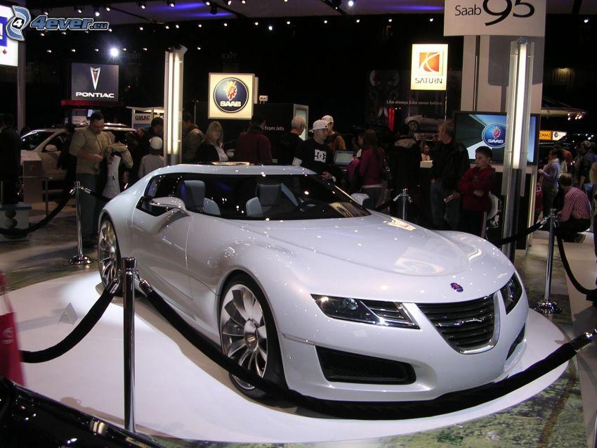 Saab Aero X, Ausstellung, Automobilausstellung