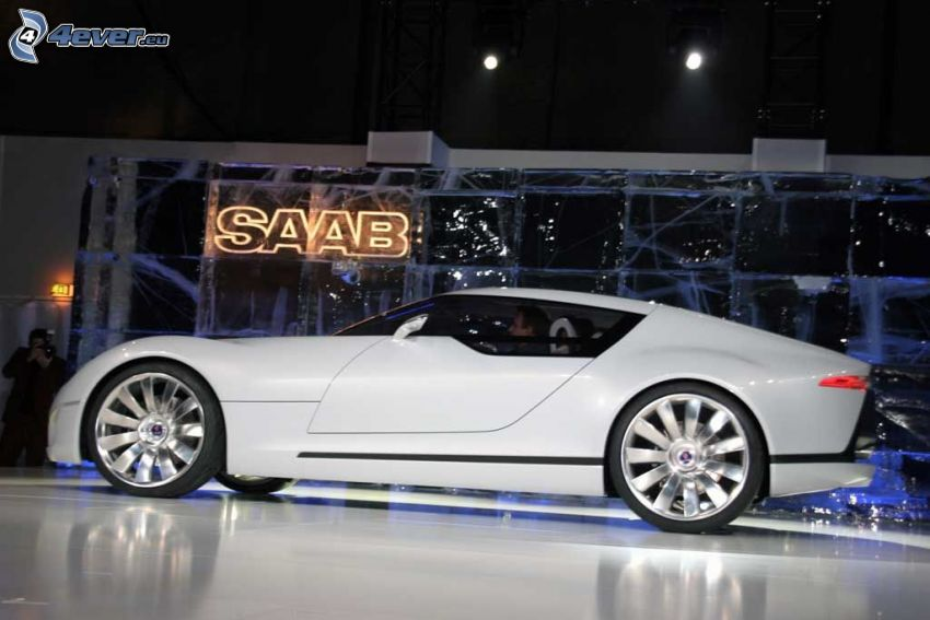Saab Aero X, Automobilausstellung, Ausstellung