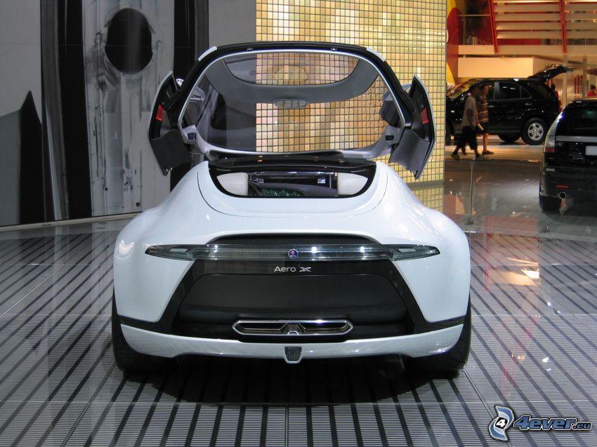 Saab Aero X, Automobilausstellung, Autos
