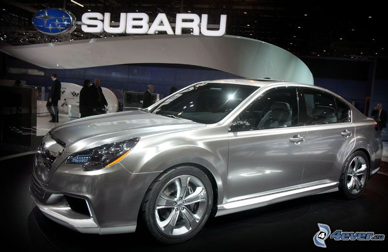 Subaru, Automobilausstellung