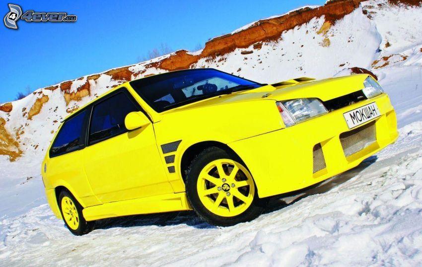Auto, Schnee