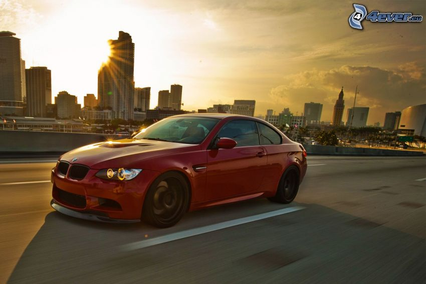 BMW M3, Straße, Geschwindigkeit, City