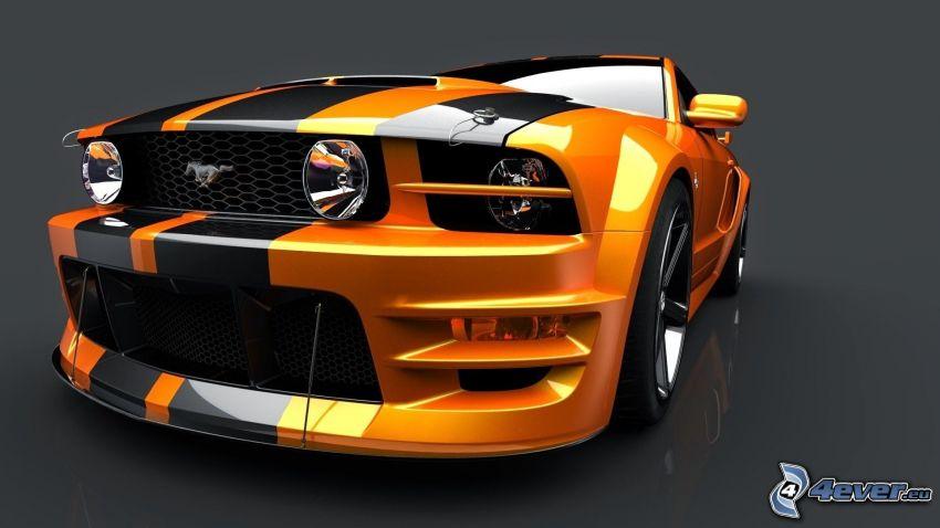 Ford Mustang, Vorderteil, tuning