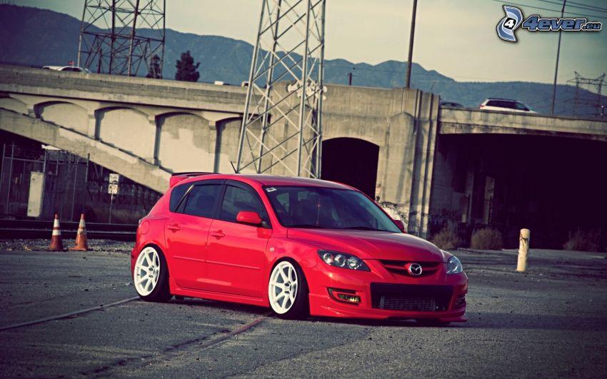 Mazda 3, tuning, Brücke