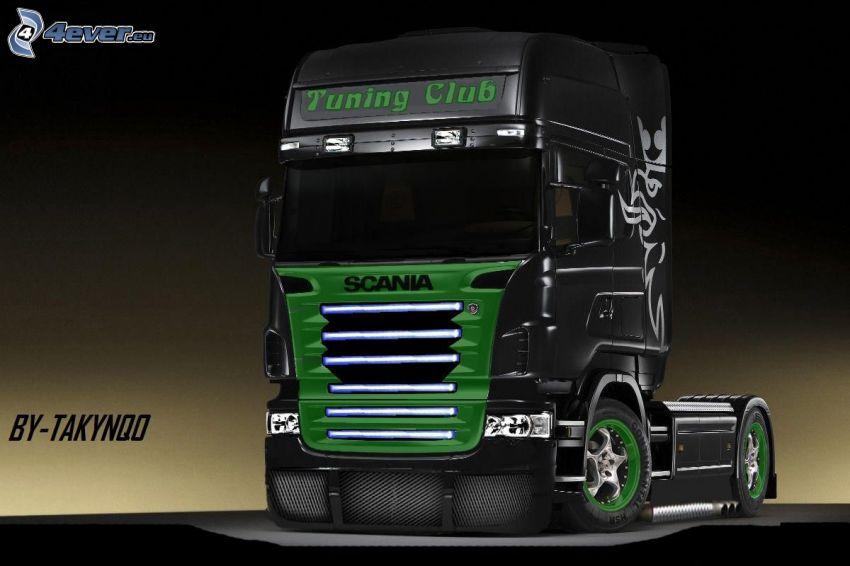 Scania R620, Zugmaschine, Scania virtual tuning