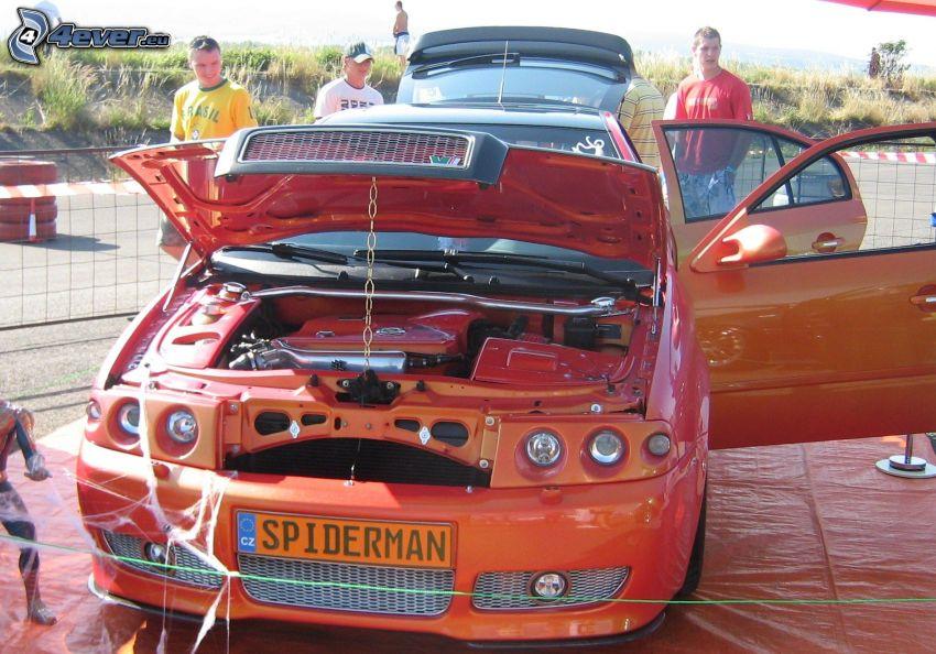 Škoda Octavia, tuning, Spiderman, Ausstellung
