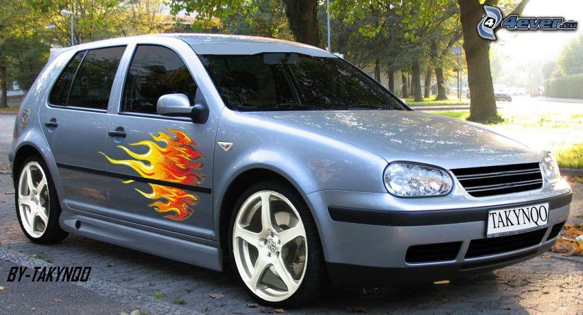 Volkswagen Golf, virtual tuning
