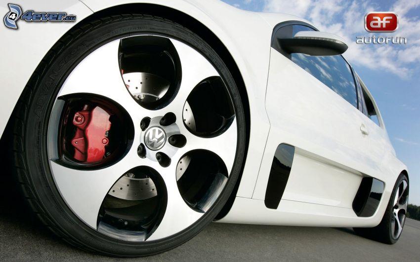 Volkswagen Golf GTI W12, Felge, Bremse