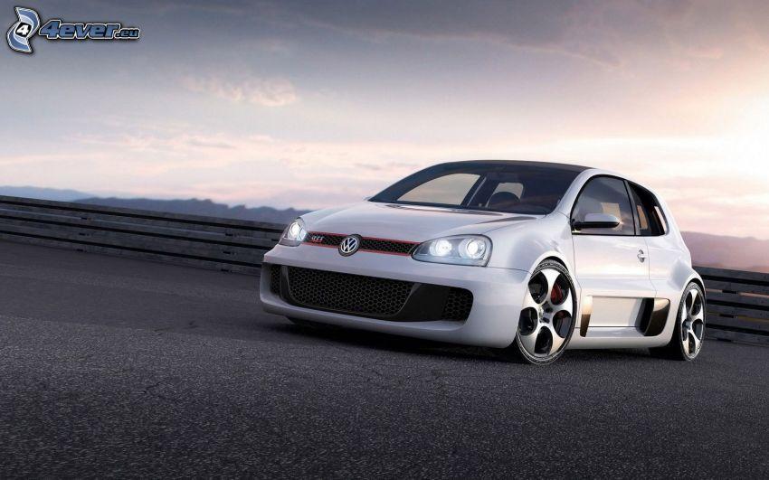 Volkswagen Golf GTI W12, tuning