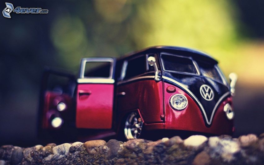 Volkswagen Type 2, Miniatur