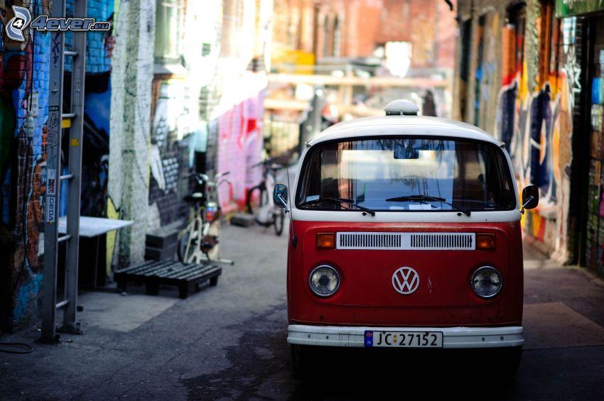 Volkswagen Type 2, Straße