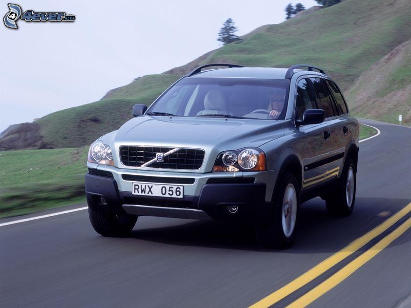 Volvo XC90, SUV, Straße