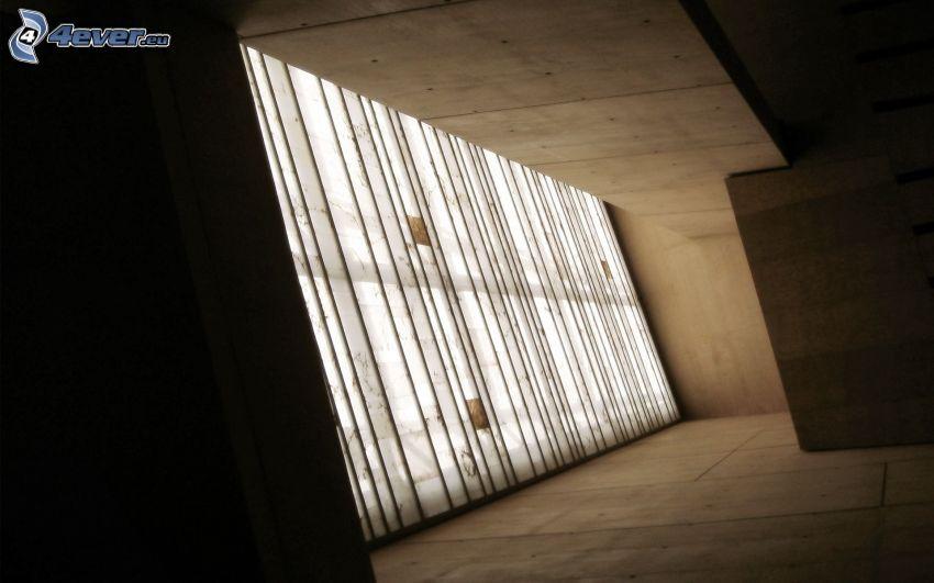 Altbau, Wand, Glas