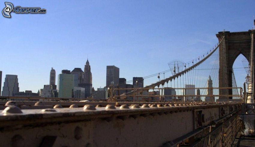 Brooklyn Bridge, Brücke