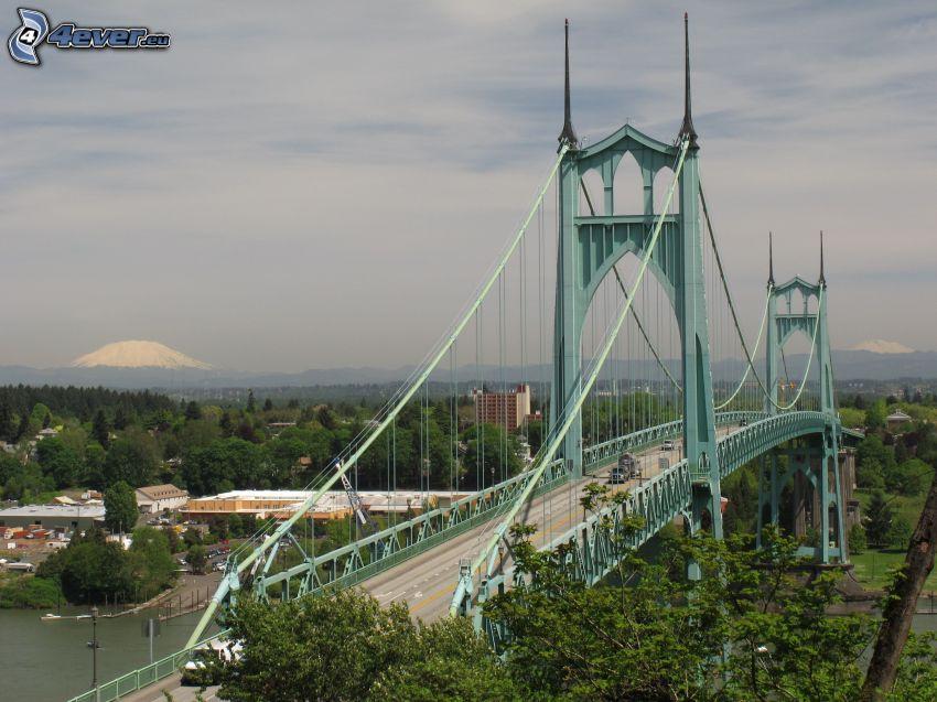 Brücke St. Johns, Berge