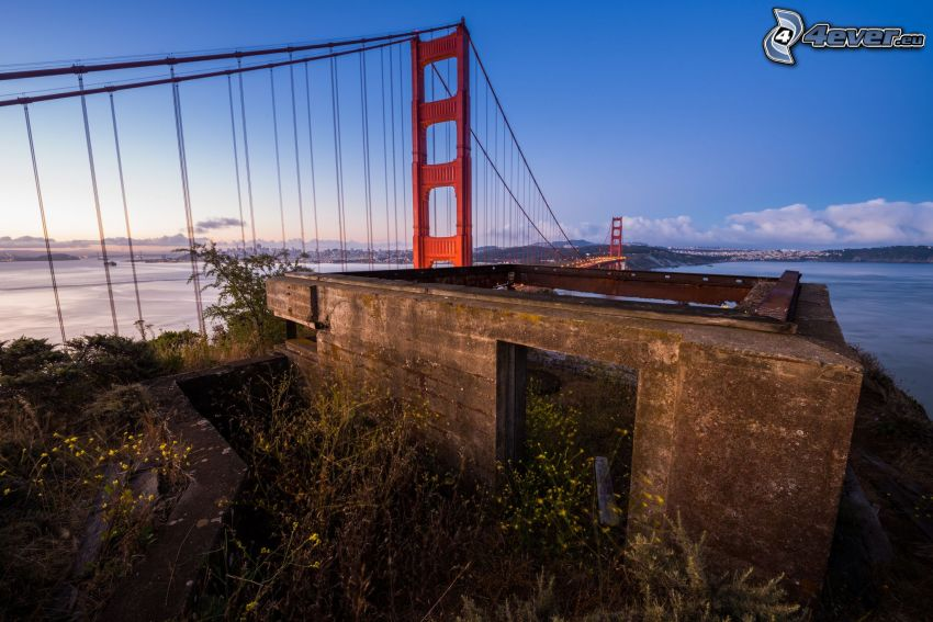 Golden Gate, Altbau