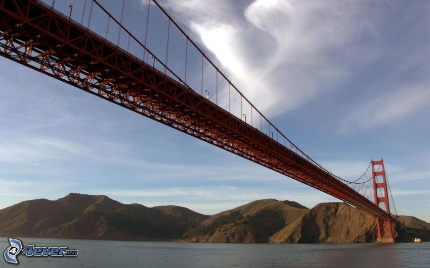 Golden Gate, Brücke, San Francisco, Amerika, USA